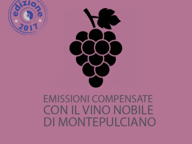 EMISSIONI COMPENSATE CON IL VINO NOBILE DI MONTEPULCIANO - Comune di Montepulciano