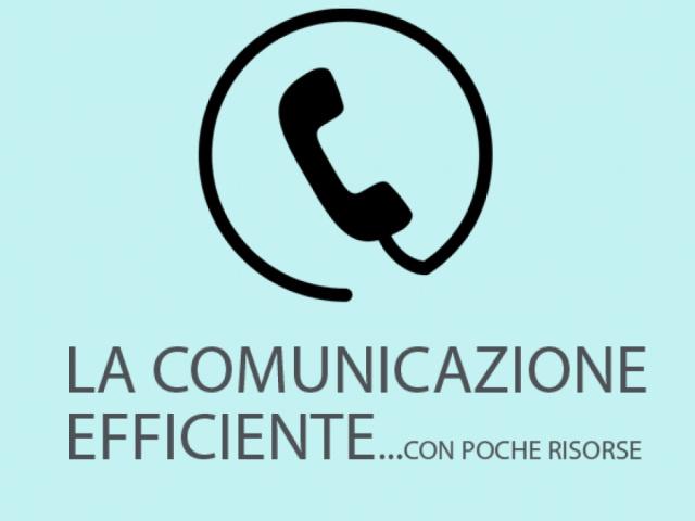 LA COMUNICAZIONE EFFICIENTE... con poche risorse! - Centro Intercomunale Protezione Civile Chianti S.